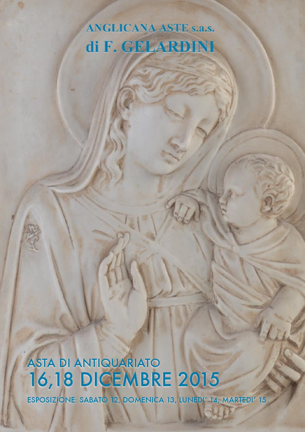ASTA DI ANTIQUARIATO by Anglicana Aste - issuu
