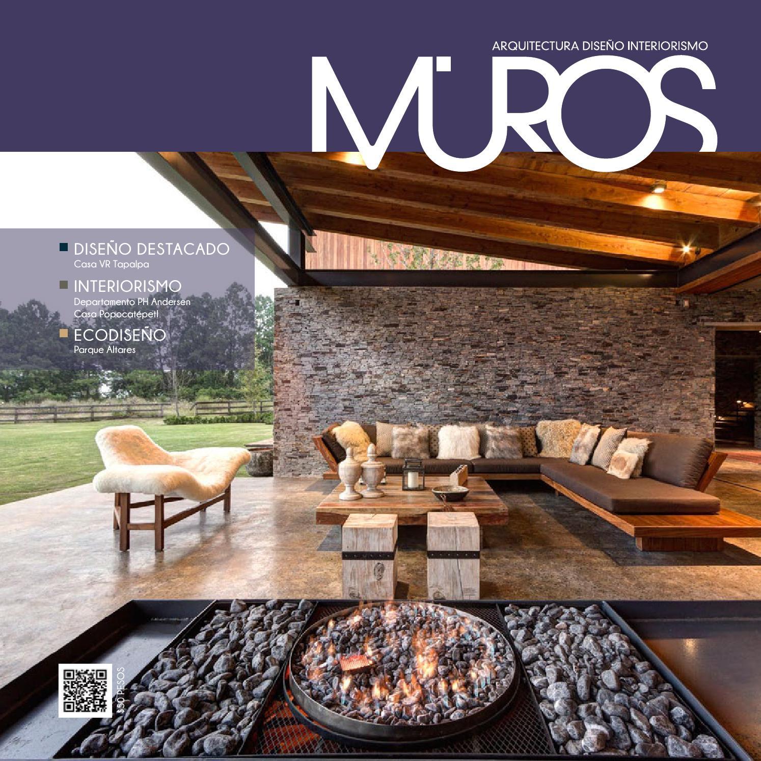 Edici n 20 revista muros arquitectura dise o for Casa y jardin revista pdf