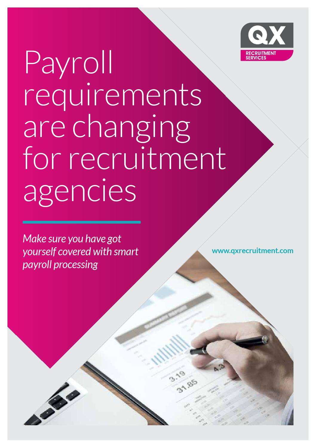 Recruitment and recruitment agencies are one and the same 1