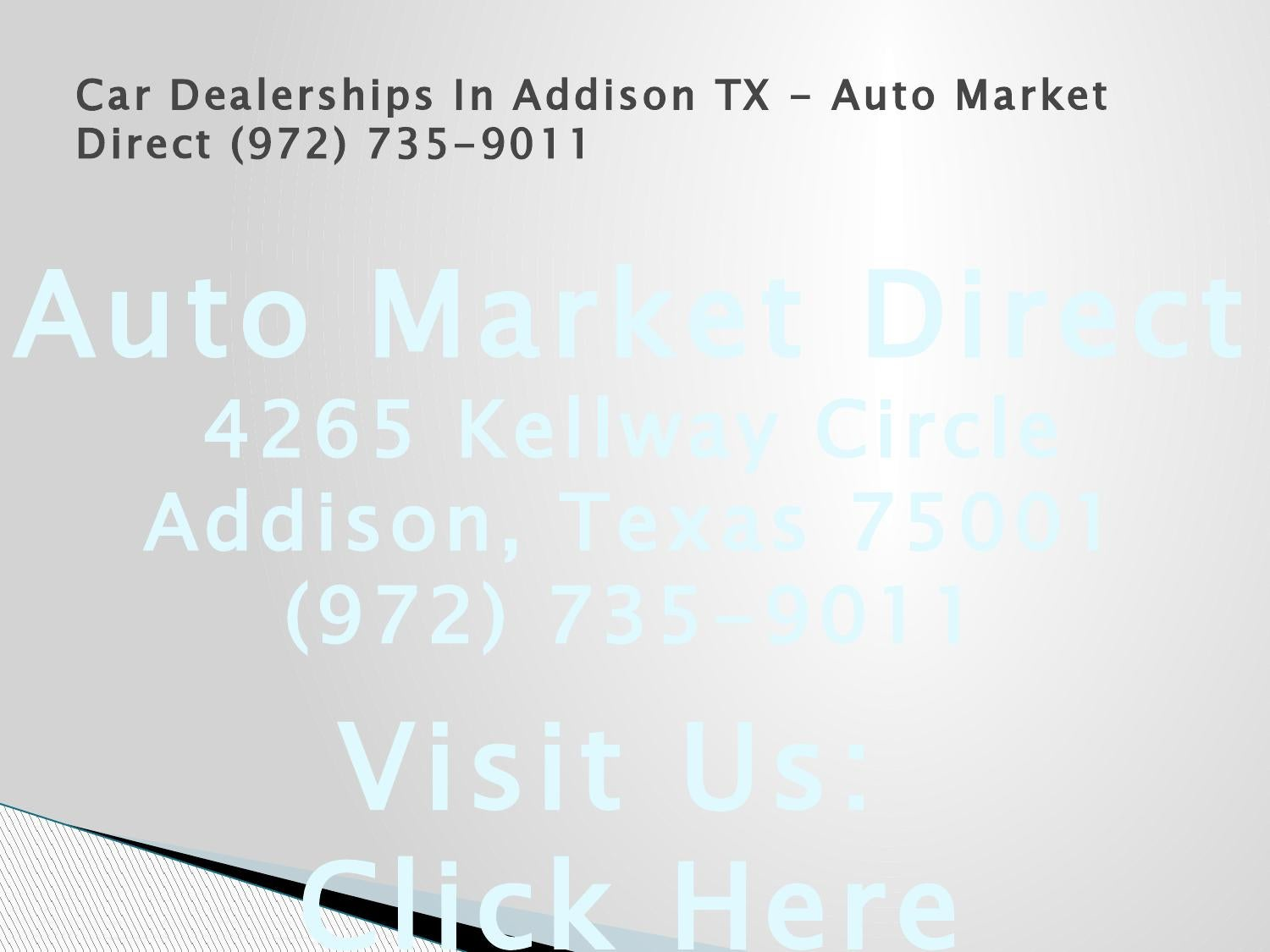Addison Used Car Dealers