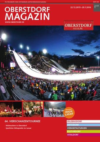 Oberstdorf Magazin 01/2016