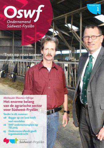 Ondernemend Súdwest-Fryslân maart 2015