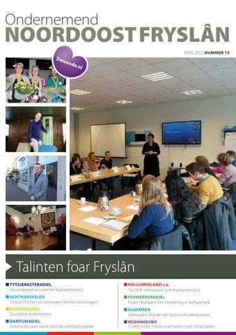 Ondernemend Noordoost Fryslân april 2015