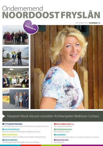 Ondernemend Noordoost Fryslân september 2015