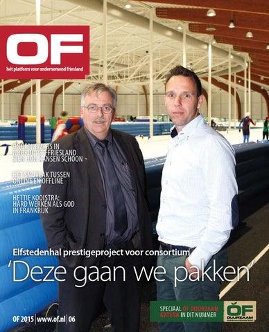 Ondernemend Friesland editie 6 oktober 2015