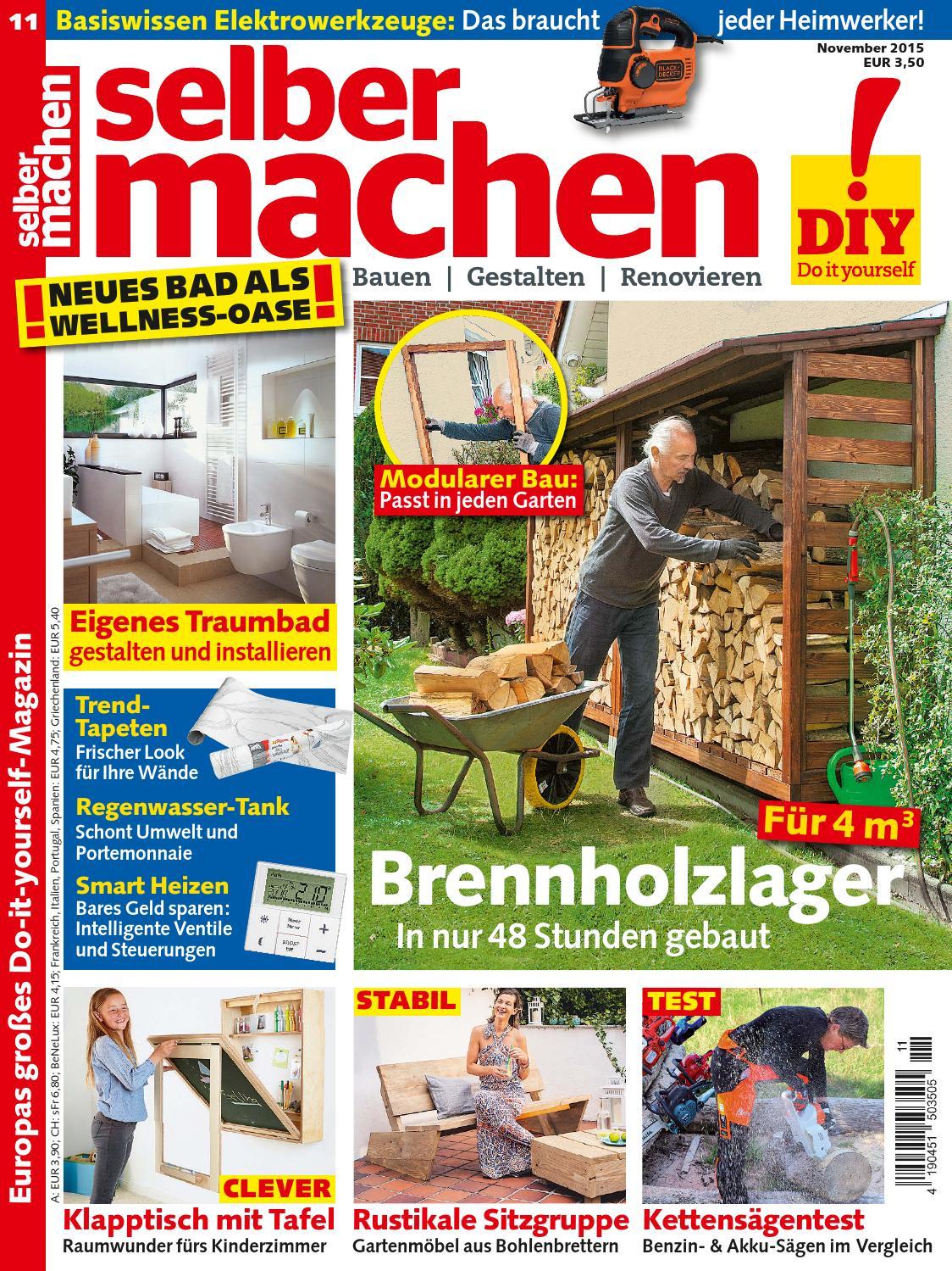 selber machen 2015 11 by b0mb3r issuu. Black Bedroom Furniture Sets. Home Design Ideas
