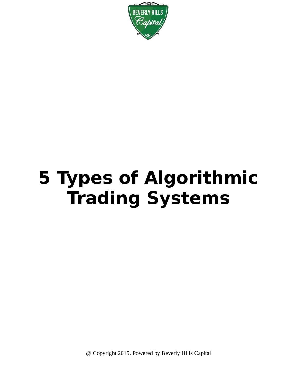 Algorithmic options trading software