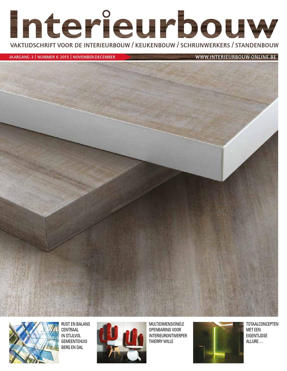 Interieurbouw 06 2015 by louwers uitgeversorganisatie bv   issuu