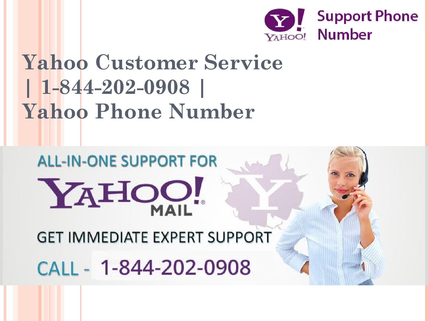 Yahoo! Contact Us Product Selection Page