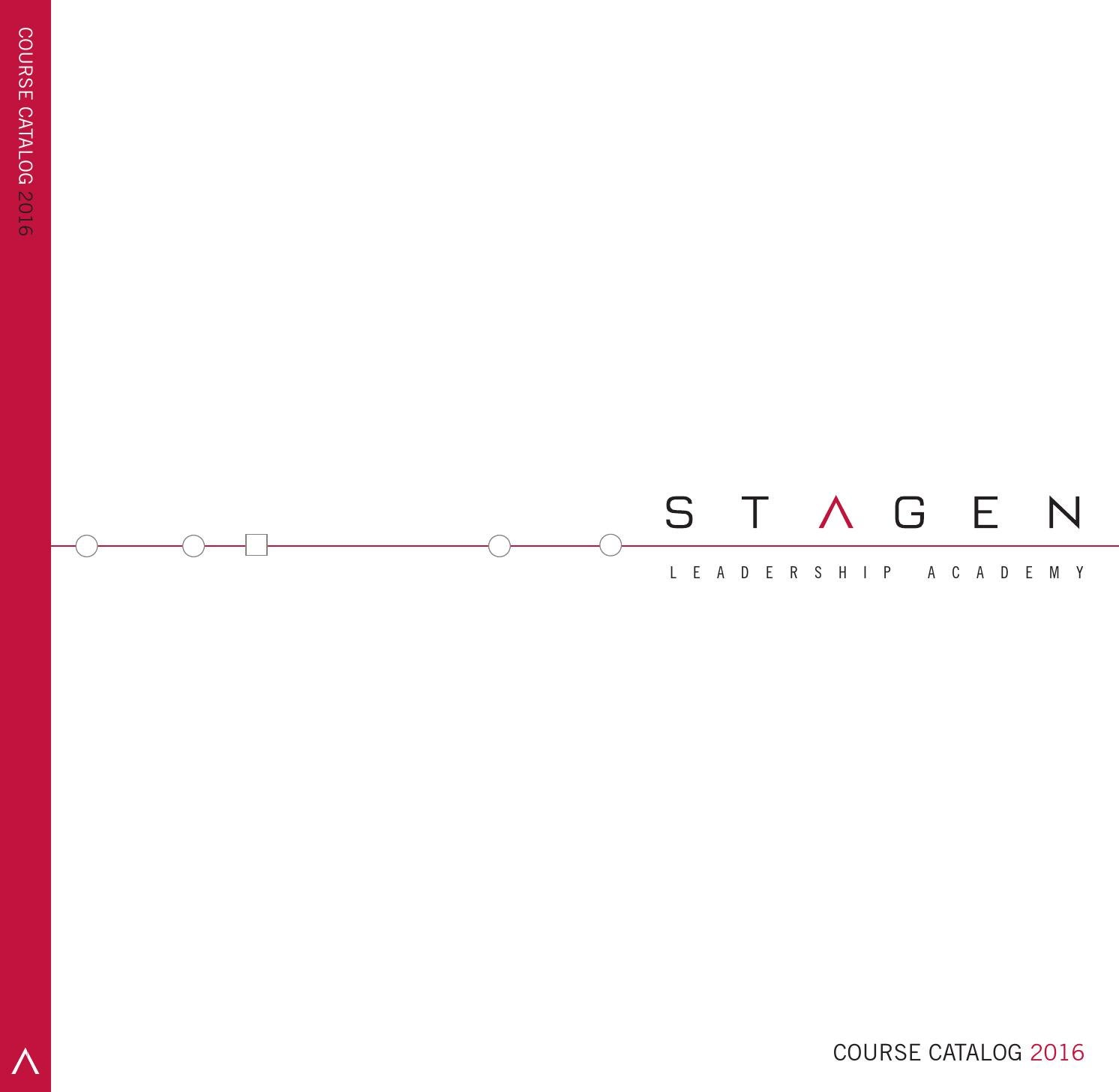 course catalog by stagen issuu