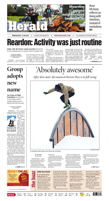 Wholesale NFL Nike Jerseys - Everett Daily Herald, January 06, 2016 by Sound Publishing - issuu