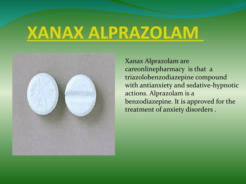 Xanax alprazolam by carepharmacy - issuu