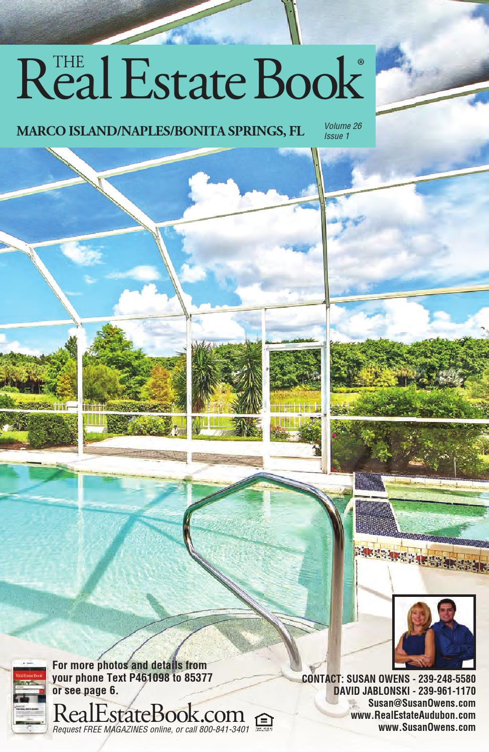 The Real Estate Book Of Naples Marco Island Bonita Springs
