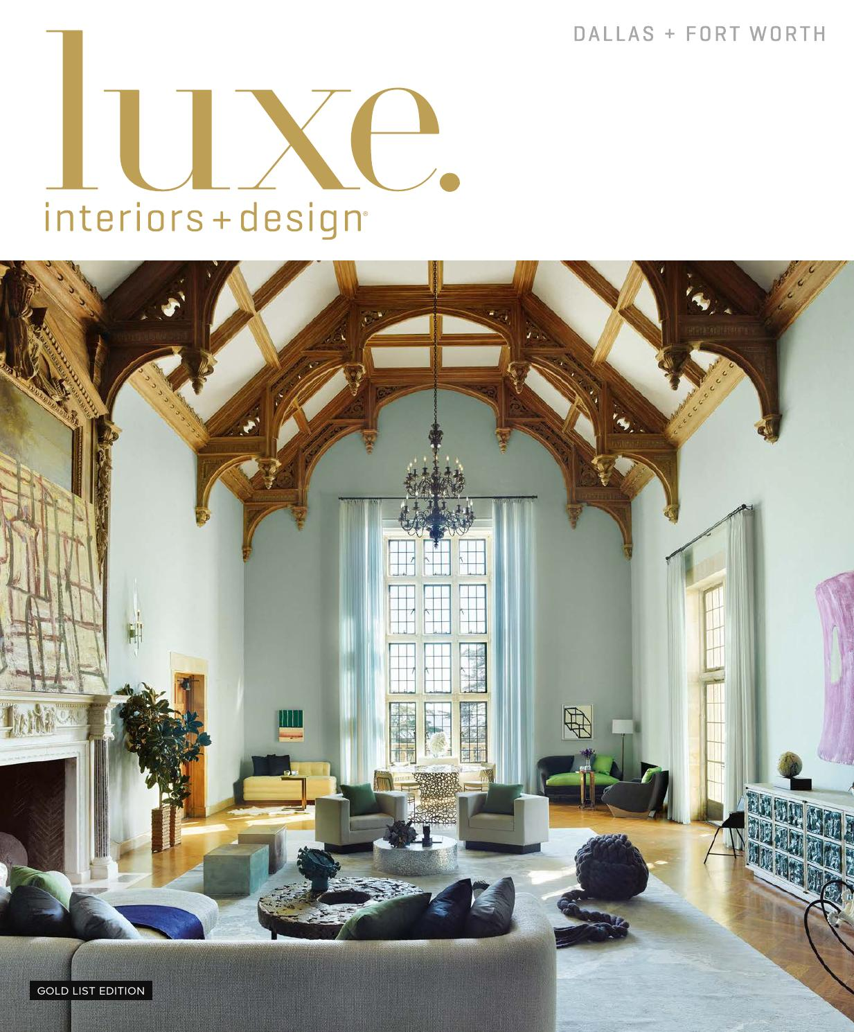 Luxe Magazine January 2016 Dallas By Sandow Media LLC