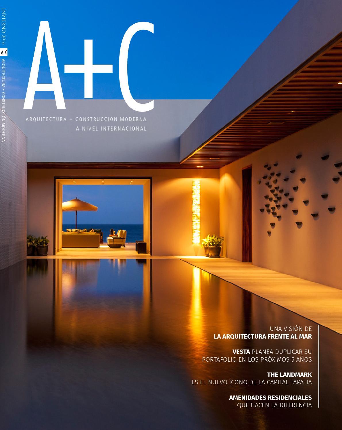 A c moderna invierno 2016 by ac moderna issuu - Amutio y bernal arquitectos ...