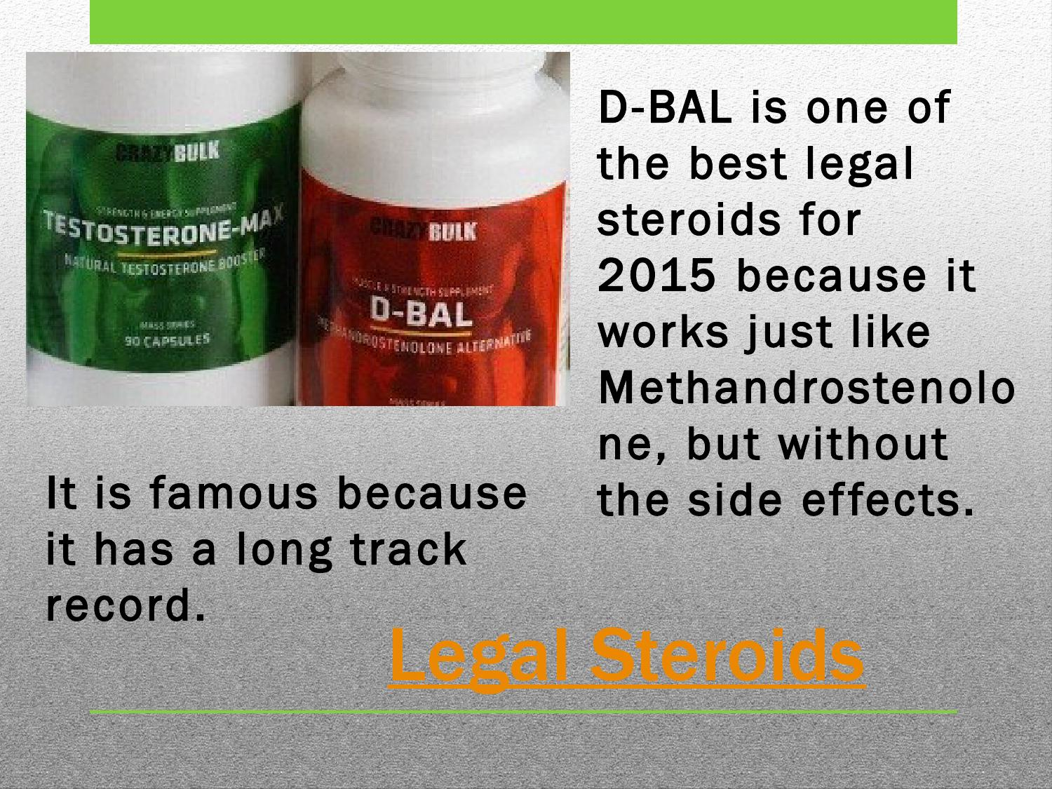 new legal steroid 2015