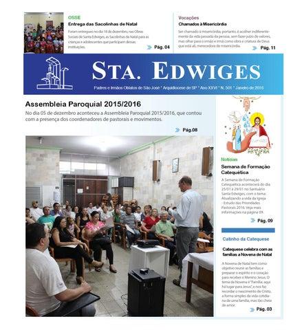 [Jornal Sta Edwiges (Janeiro/2016)]