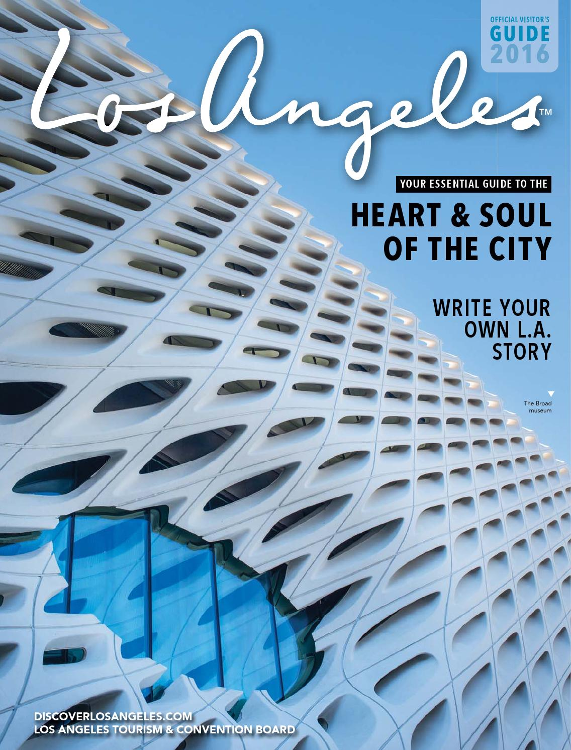 Los Angeles Official Visitor S Guide 2016 By Los Angeles Magazine Custom Publications Issuu