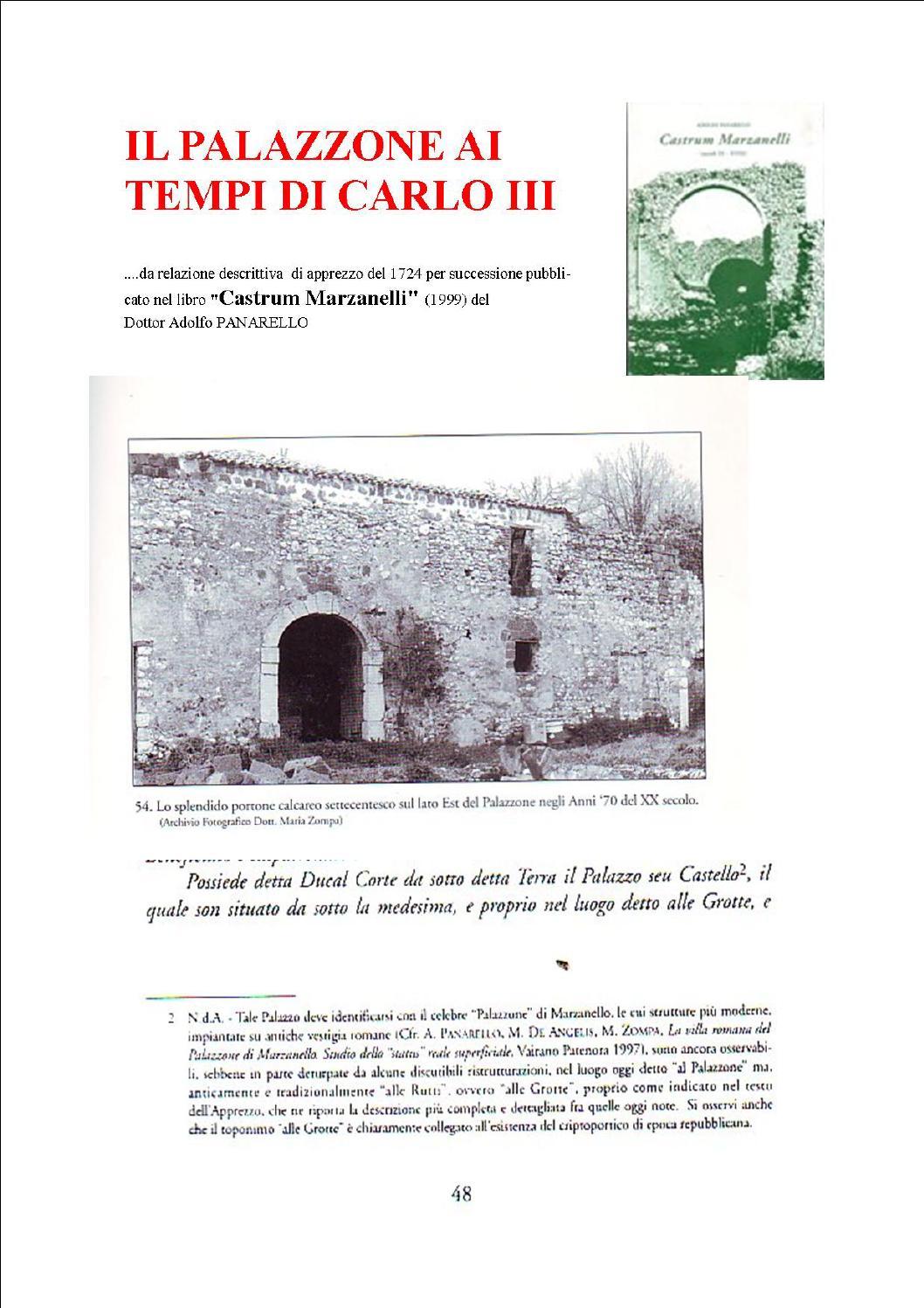 Il Palazzone Ai Tempi Di Carlo Iii By Salvatore Cerbo Issuu