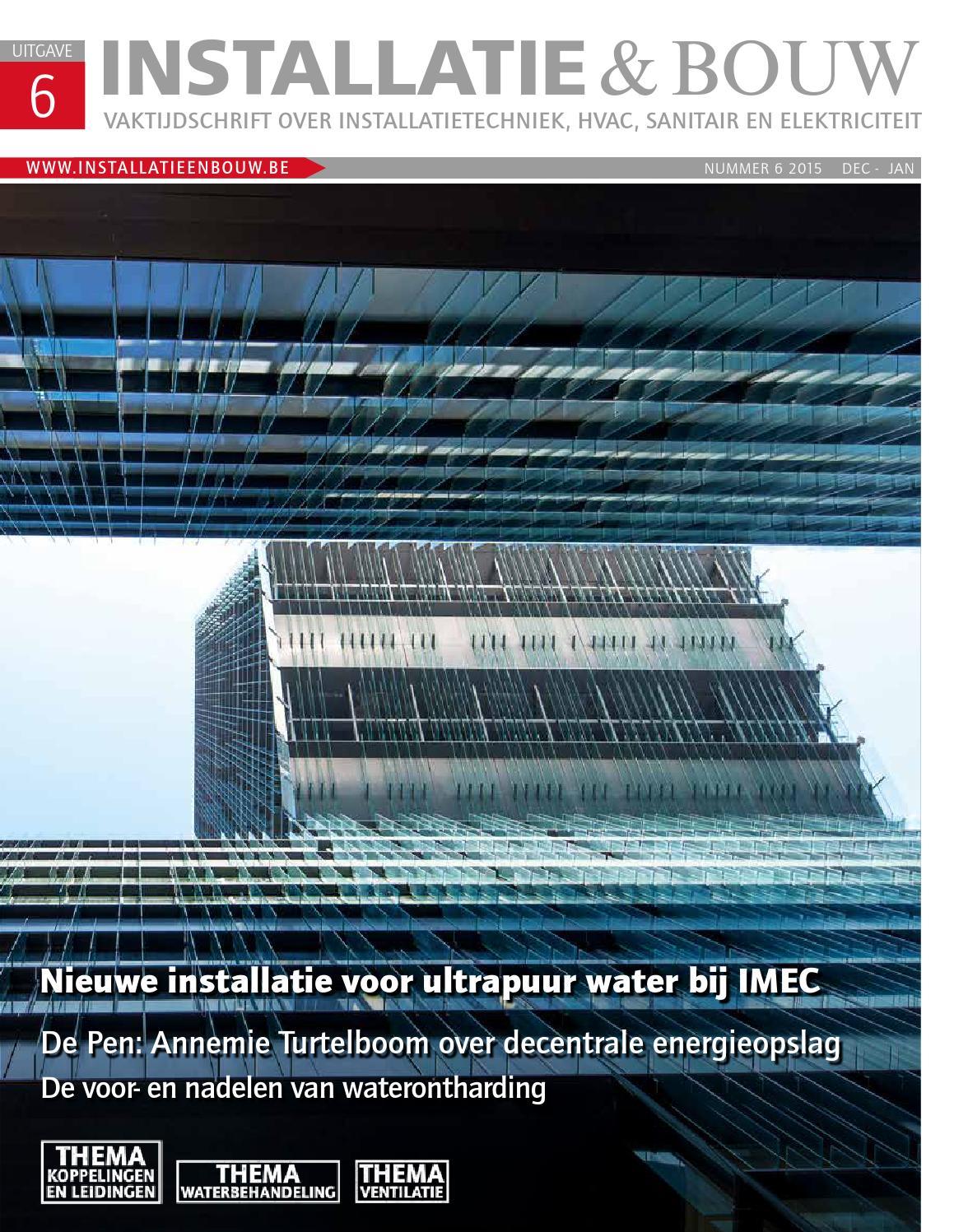 Installatie & bouw be 02 2015 by louwers uitgeversorganisatie bv ...