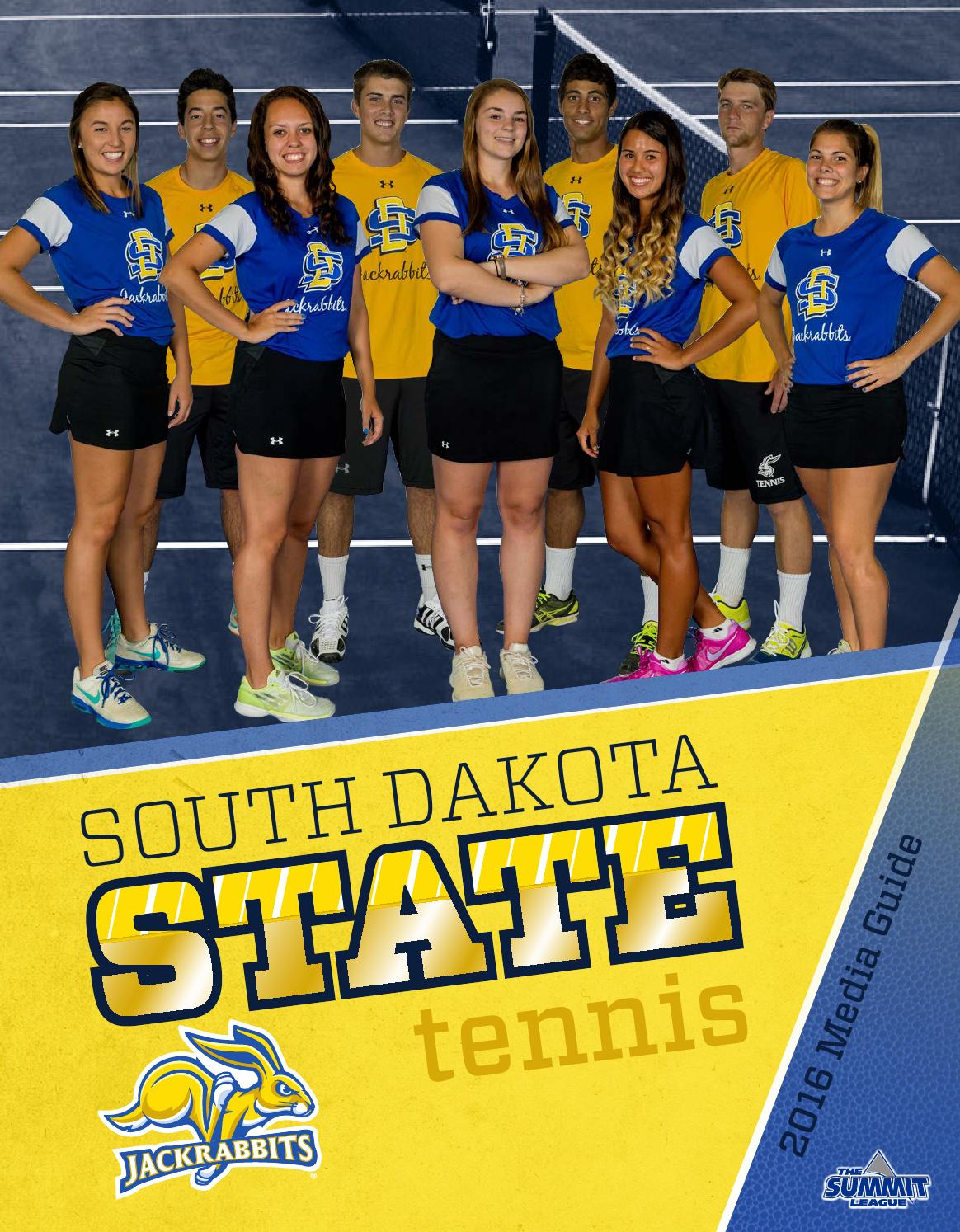 Tennis media guide by South Dakota State University ...