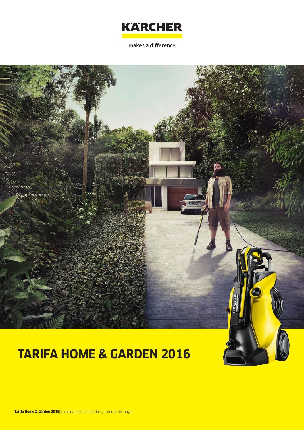 2 Karcher Tarifa Home Garden 2016 By Maquiauto Issuu