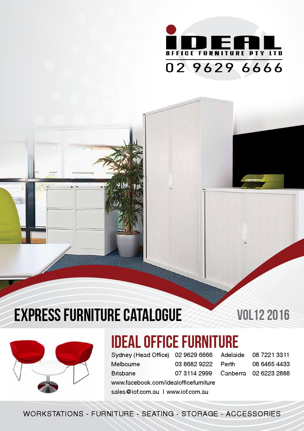 ideal office furniture 2016 catalogue by ideal office furniture pty
