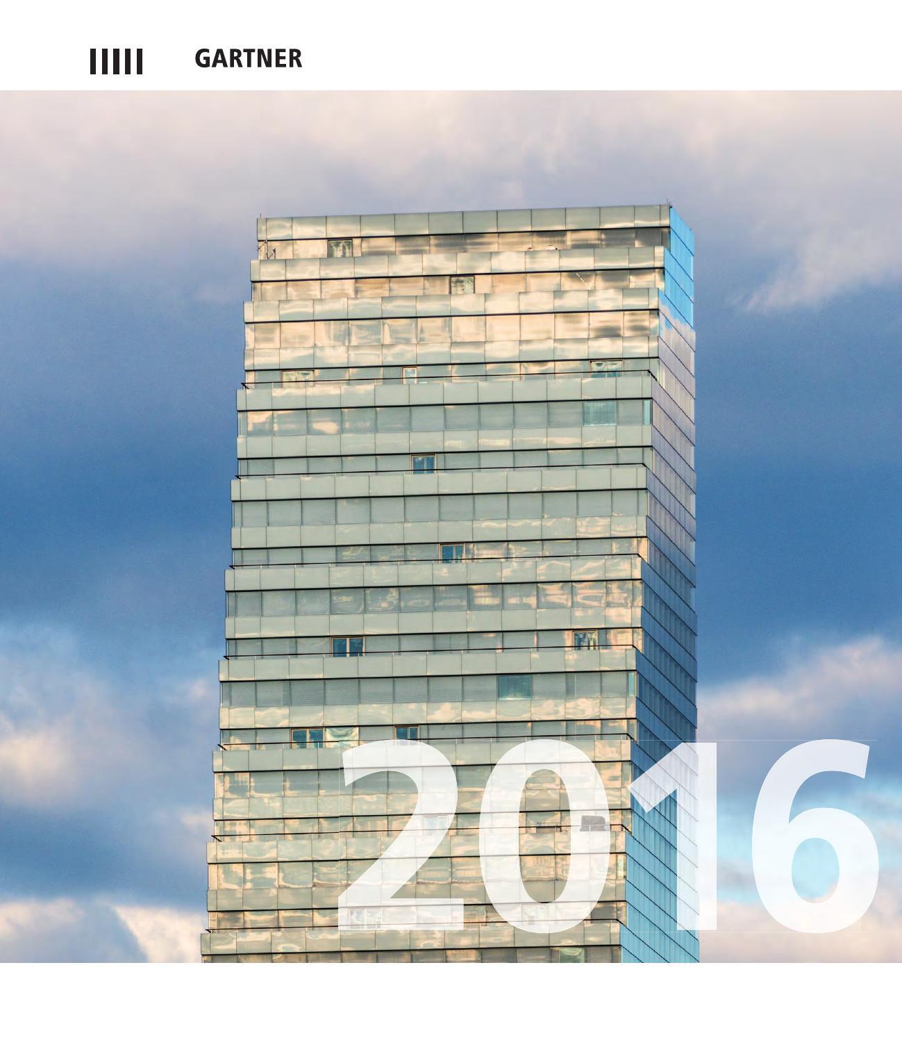 Gartner Calendar 2016 by Permasteelisa Group - issuu