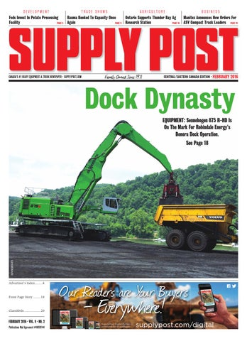 Supply Post Eastern Cover - February 2016