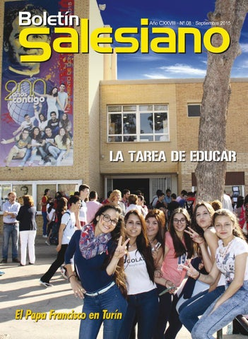 Boletín Salesiano Septiembre 2015
