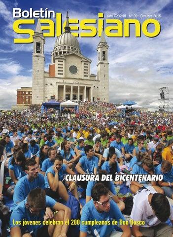 Boletín Salesiano Octubre 2015
