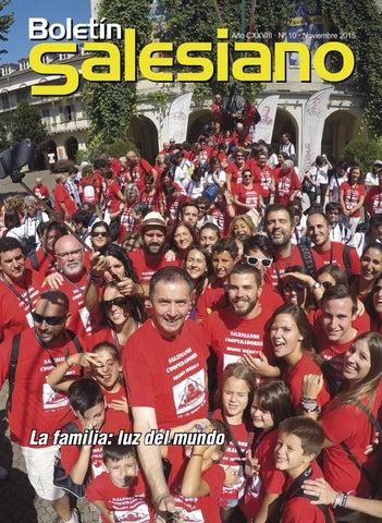 Boletín Salesiano Noviembre 2015