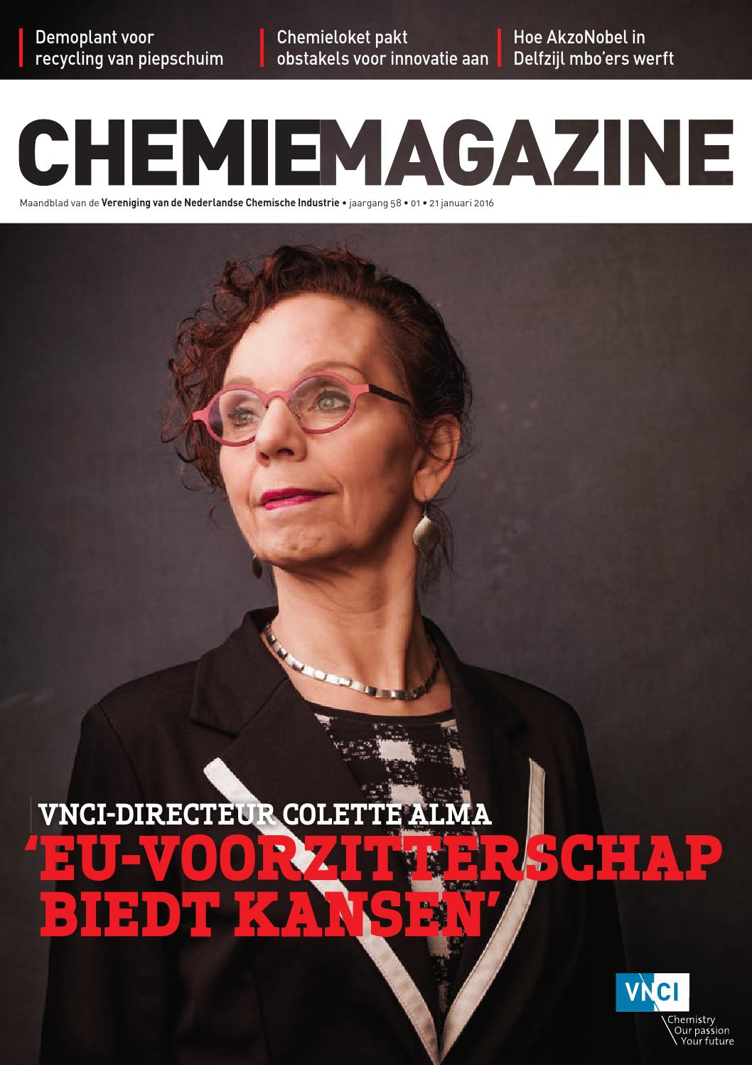 Chemie Magazine - januari 2016 by VNCI - issuu
