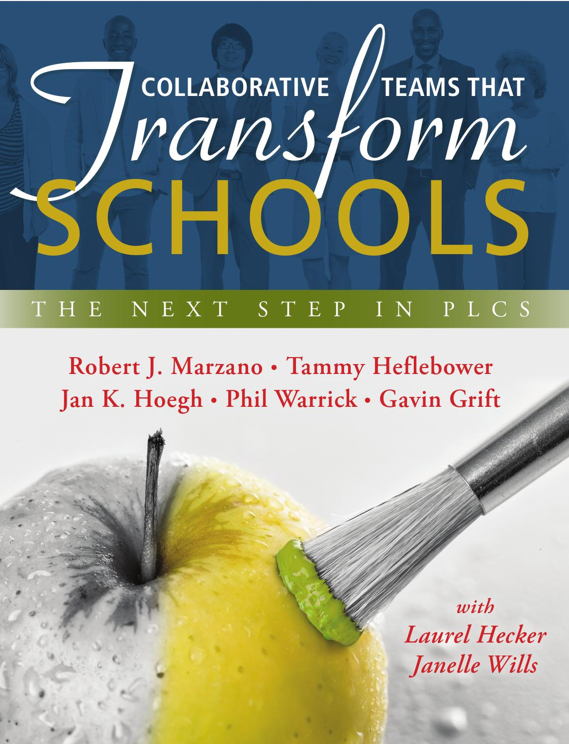 Collaborative Teaching Books ~ Collaborative teams that transform schools by solution