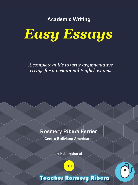 Easy essays by Rosmery Ribera - issuu