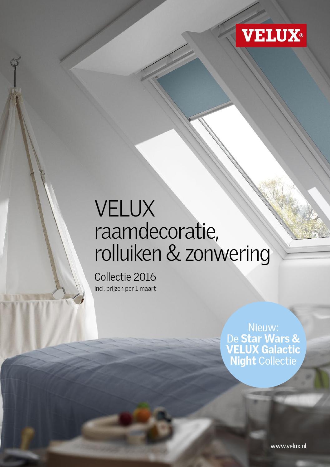 Velux productcatalogus 2016 by velux nederland b.v.   issuu