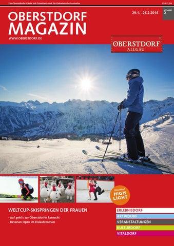 Oberstdorf Magazin 02/2016