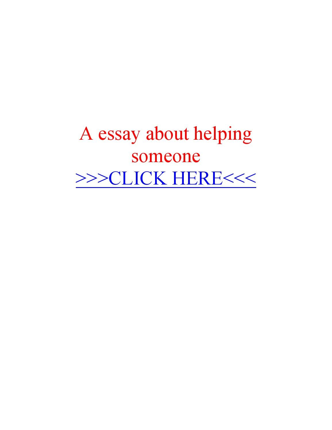 narrative essay on helping others Narrative essay about helping others tempe personal biography form columbus, lancashire, northern mariana islands, write creative writing on military for $10 south carolina narrative essay about.