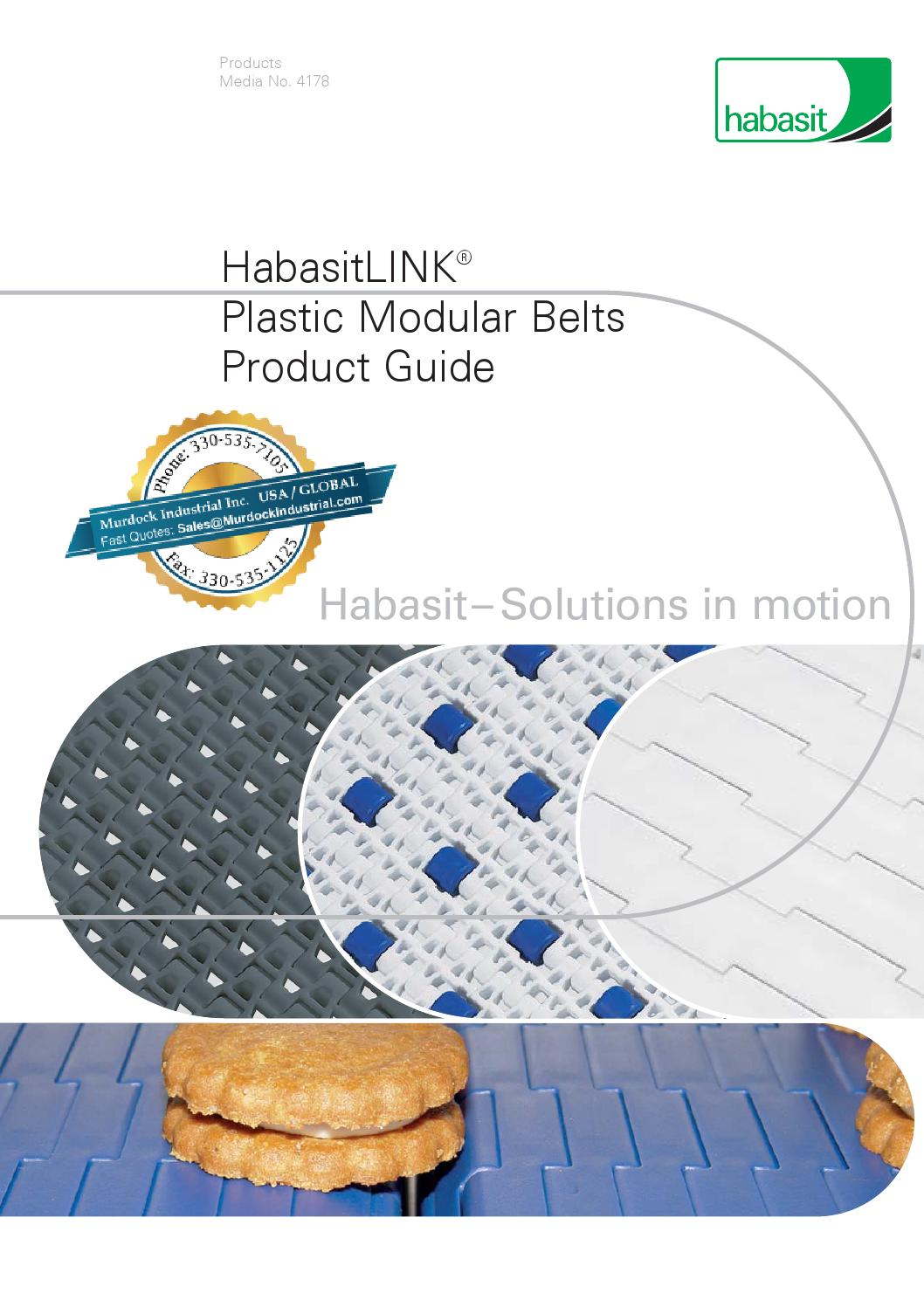 Conveying Solutions: Metal Belts, MatTop & TableTop Chains ...