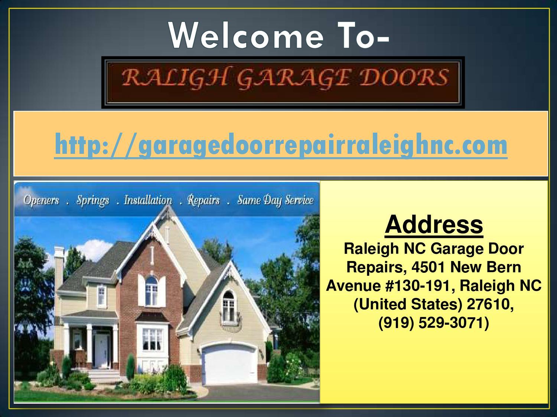 Garage Door Repair Raleigh Nc