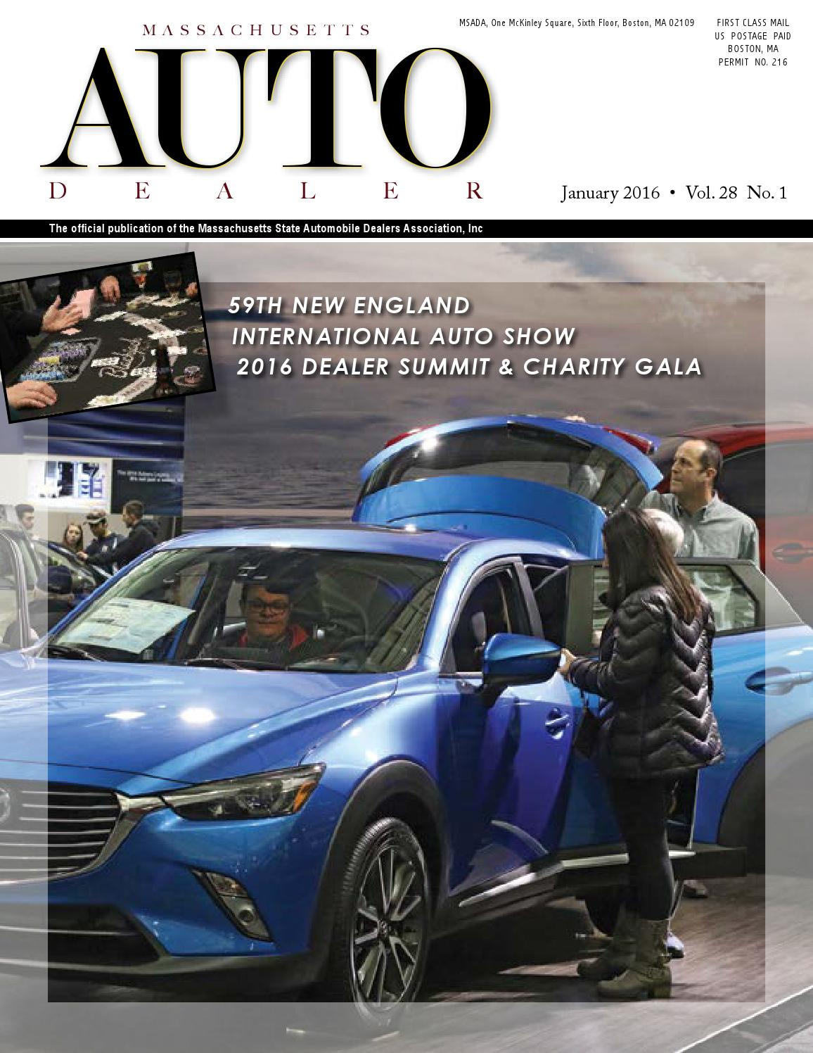 massachusetts auto dealer magazine 2016 by massachusetts massachusetts auto dealer magazine 2016 by massachusetts state automobile dealers association inc issuu
