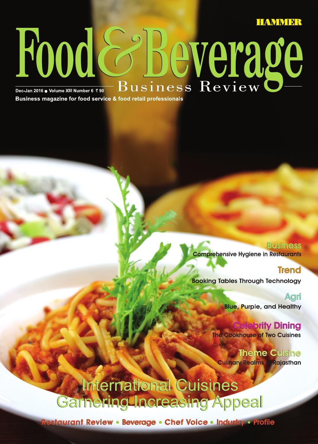 food  u0026 beverage business review   dec