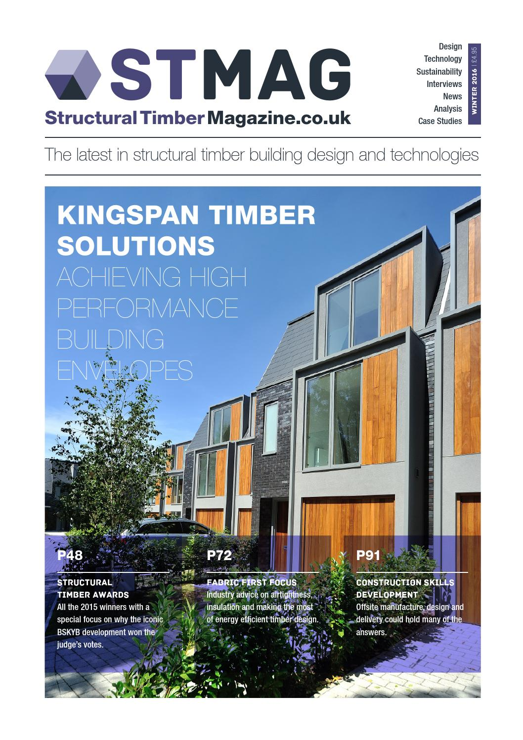 Structural Timber Magazine By Radar Communications Issuu - Most efficient home design