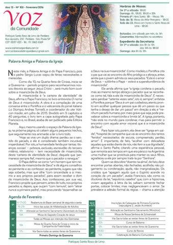 [Jornal Santa Rosa de Lima – Fevereiro/2016]