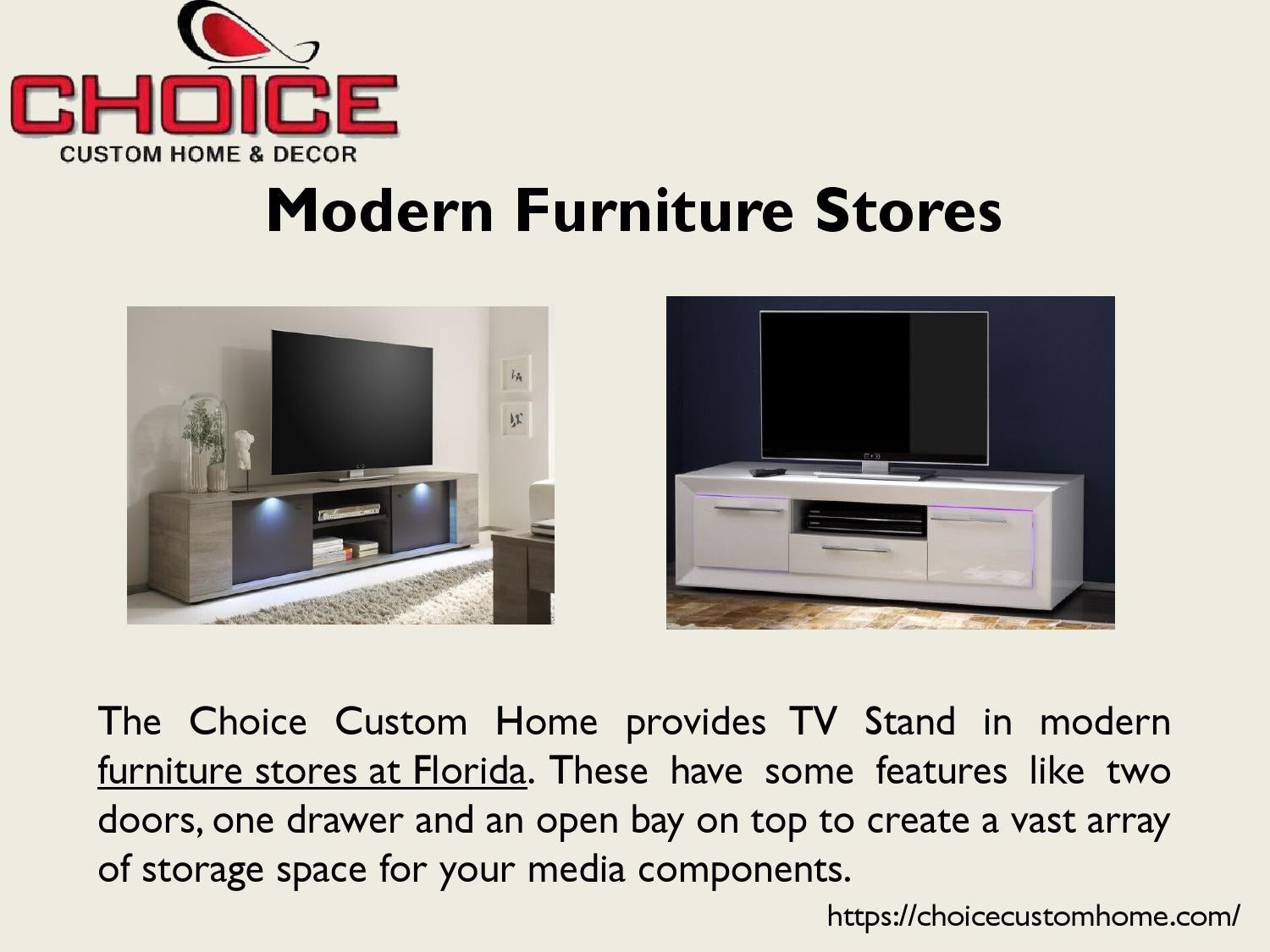 Furniture Stores Florida By Choice Custom Home Issuu