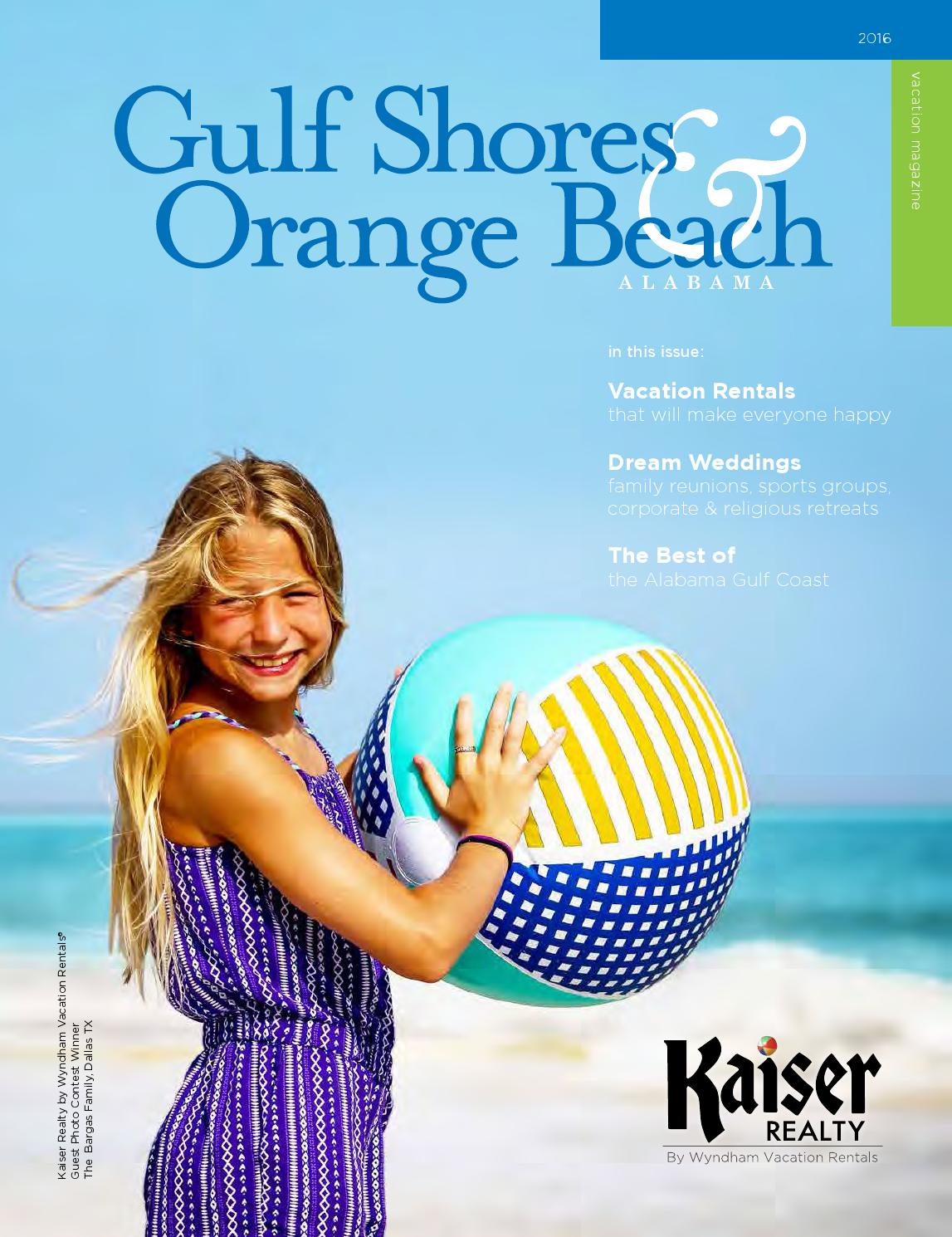 Alabama Gulf Coast Condominiums By Wyndham Vacation: Kaiser Beach Vacation Guide By Beach Vacation Guides
