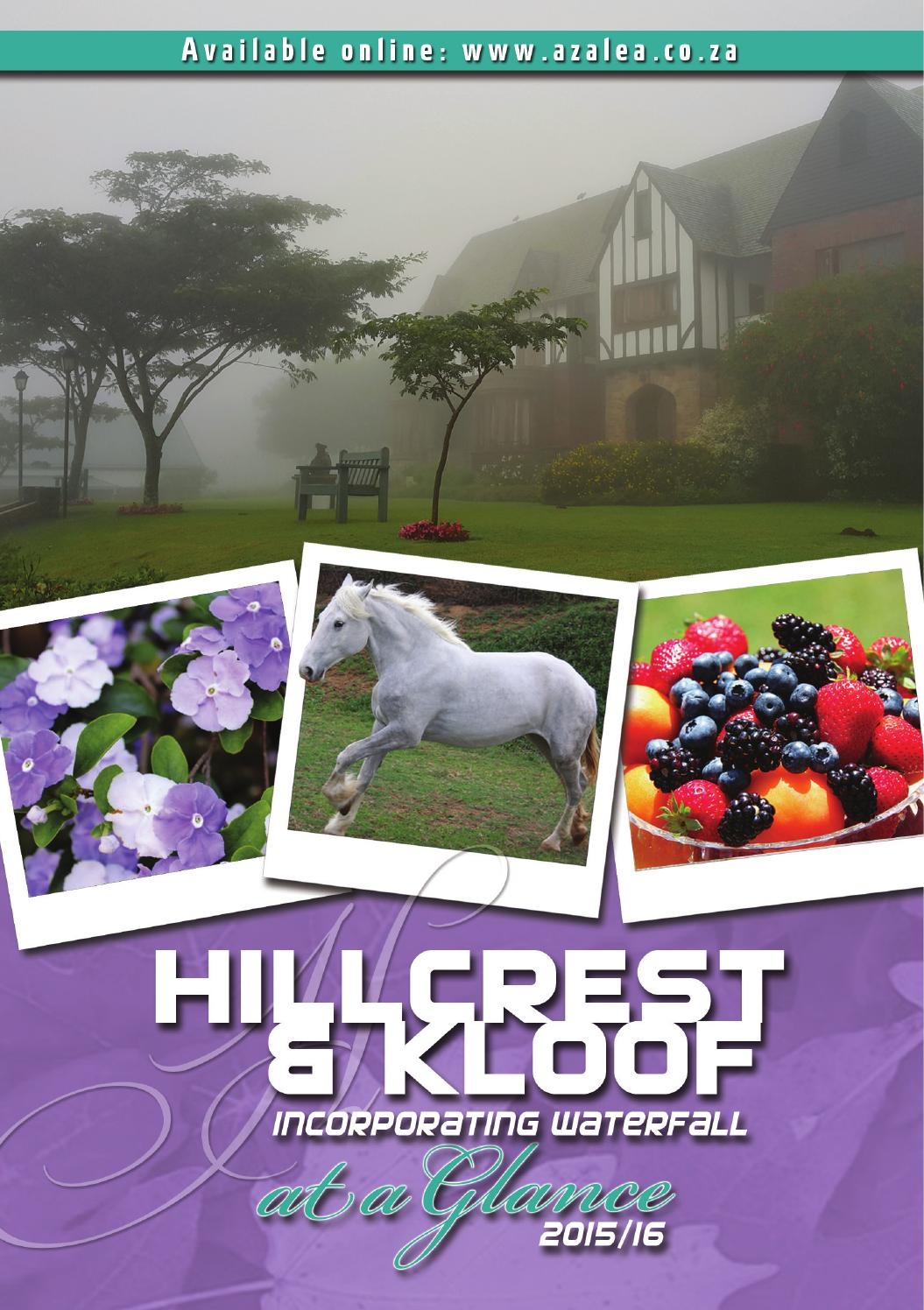 Hillcrest Amp Kloof A Glance 2015 16 By Lyn G Issuu