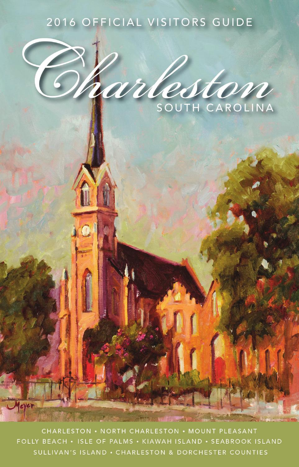 Tennessee Smokies Visitors Guide 20162017 by VistaGraphics issuu – Charleston Tourist Map