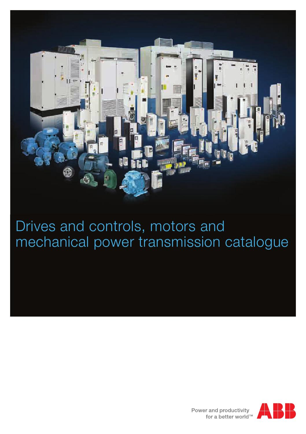 Abb Drives And Controls Motors And Mechanical Power