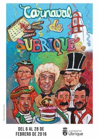 Programa del Carnaval de Ubrique 2016